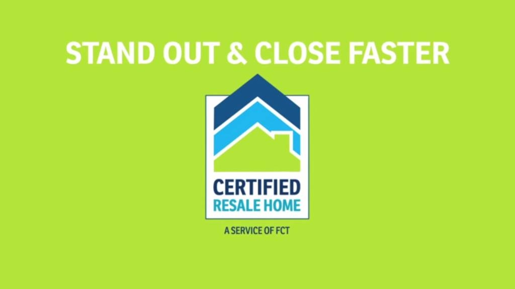 Certified Resale Home, don't sell a home without it